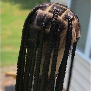 Lace frontal wig.  110$